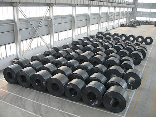 25 MT ASTM A36, SAE 1006, SAE 1008 Hot Rolled Steel Coils, 1250 / 1500 / 1800mm Width