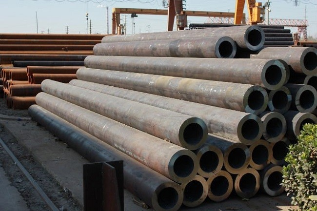 5.8M / 6M or Customer ASTM A53, BS1387, DIN2244 Tube / Round Welded Steel Pipe