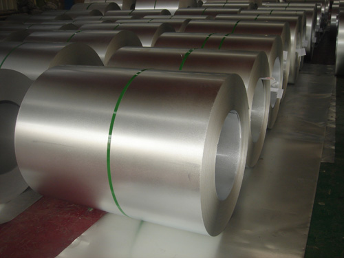 Heat Exchanger Hot Dipped Galvanized Steel Coils With Custom Cut Spangle