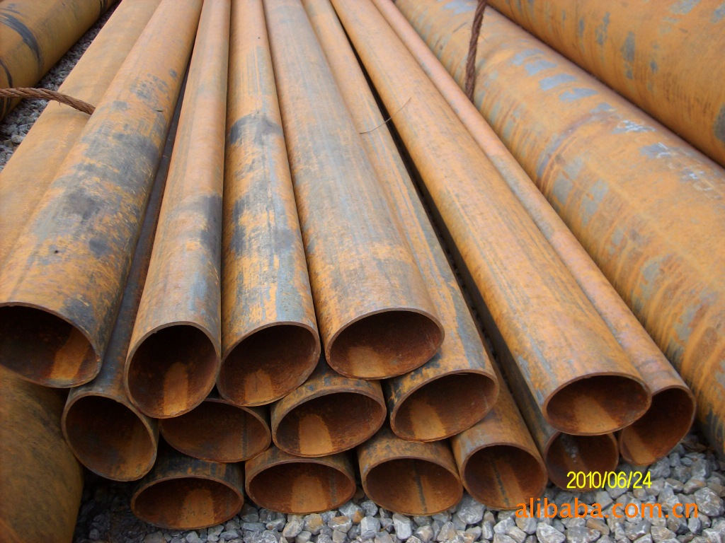 Ellipse, Circle, Square, Rectangle galvanized / coated / black Welded Steel Pipes / Pipe